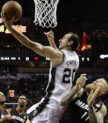 One of my all-time favourite players. The ultimate competitor, Manu GINOBILI!