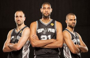 Spurs 'Big 3' have sacrificed minutes, salaries, and individual rewards, in the pursuit of team goals.