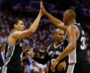 Team-first basketball has given the Spurs a 3-1 series lead.