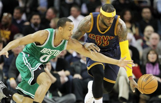 Cleveland didn't have it all their own way against Boston