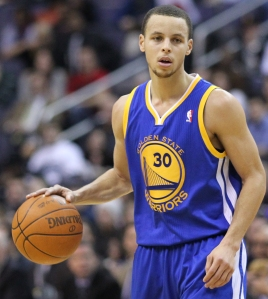 As expected, Steph Curry led the Warriors to victory in the first round