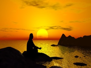 You don't have to sit cross-legged in front of a sunset to be mindful.